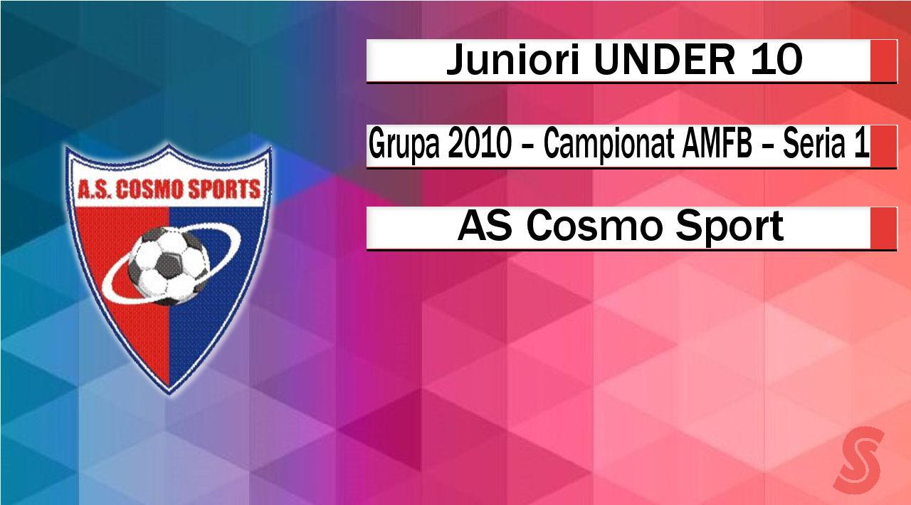 AS Cosmo Sport – Juniori U10 – Un proiect tânăr, cu potențial!