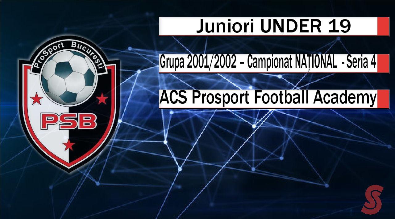 ACS Prosport Football Academy – Juniori U19 – O echipă care putea mai mult!