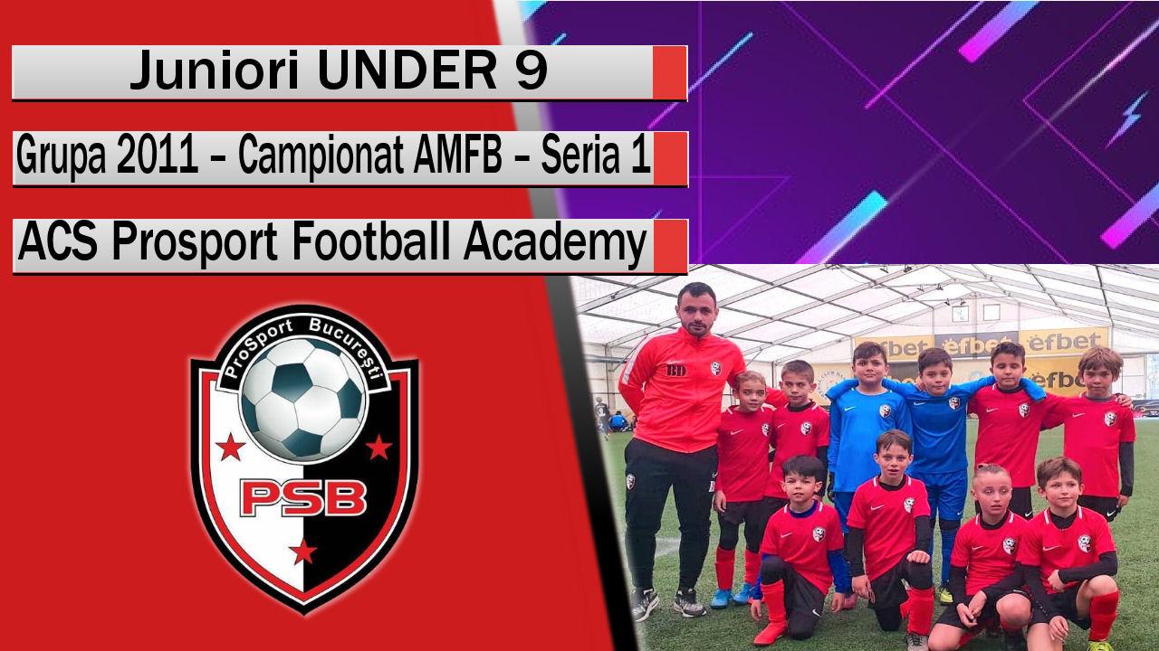 ACS Prosport Football Academy – Juniori U9 – Un team cu mult potențial!