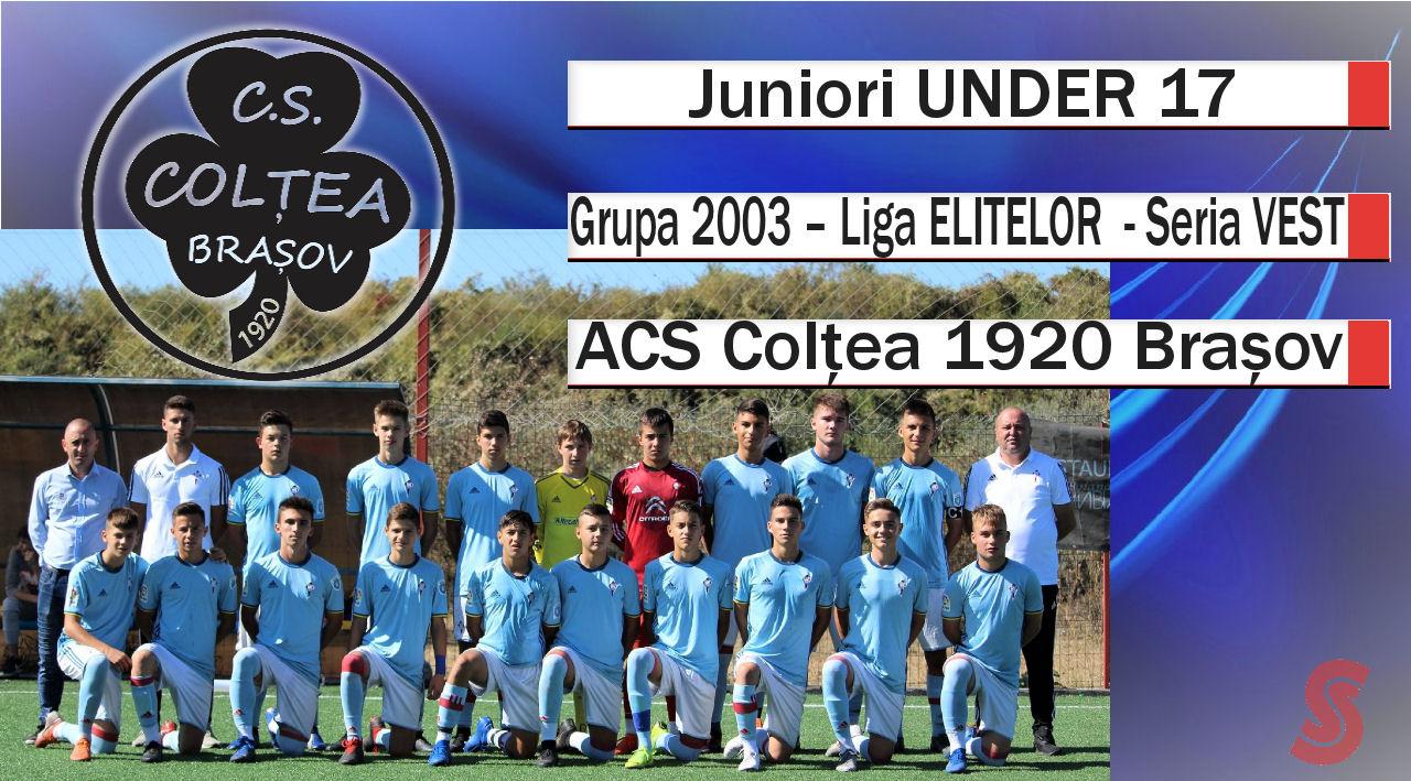 ACS Colțea 1920 Brașov – Juniori U17 – O echipă care se străduiește!
