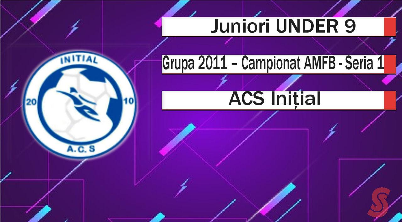 ACS Inițial – Juniori U9 – Neașteptat de bine pentru primul sezon de Serie 1!