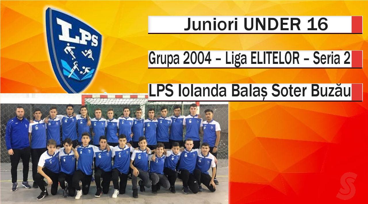 LPS Iolanda Balaș Soter Buzău – Juniori U16 – Un sezon al surprizelor!