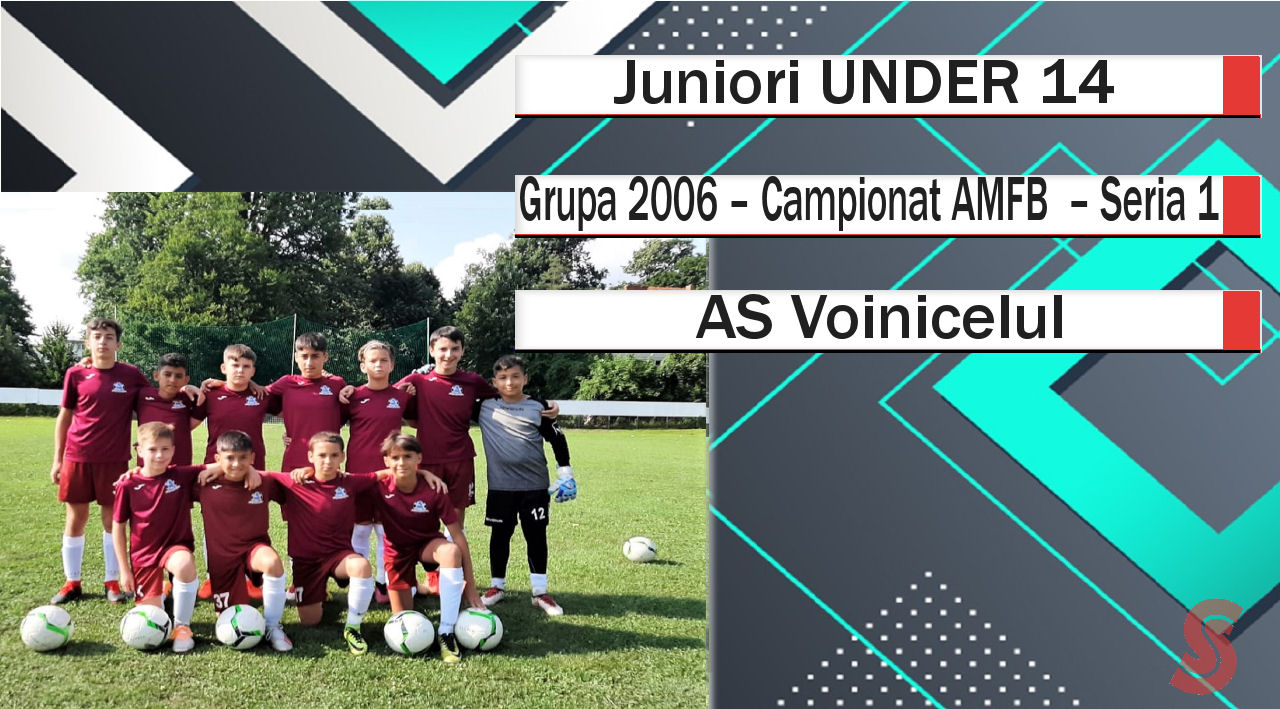 AS Voinicelul – Juniori U14 – Un team plăcut, care nu păcălește fotbalul!