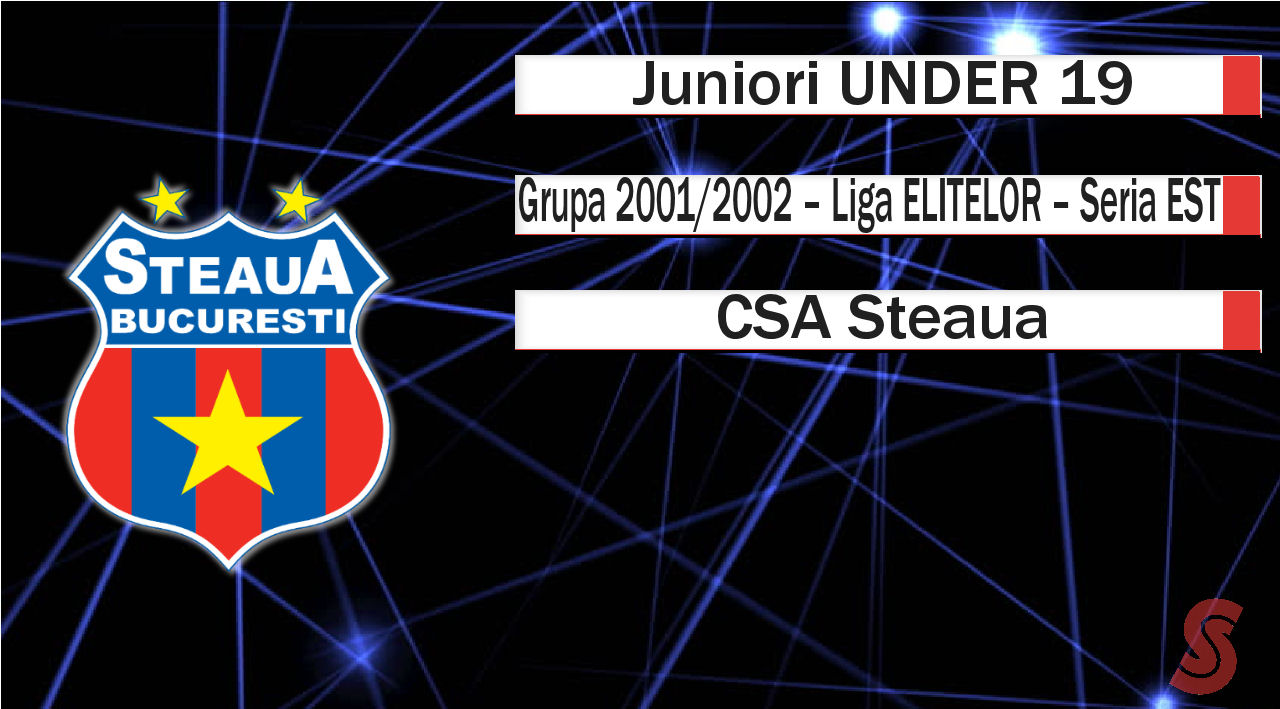 CSA Steaua – Juniori U19 – Depășită de nivelul competiției!