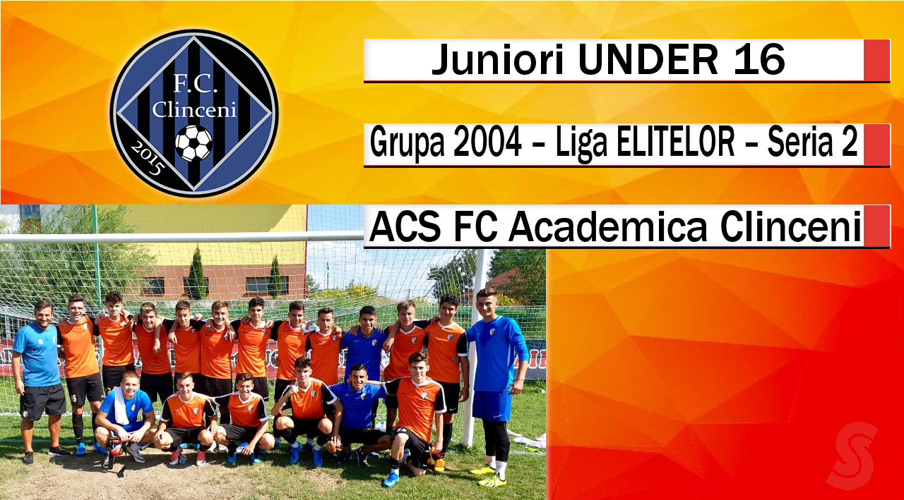 ASC FC Academica Clinceni – Juniori U16 – O echipă cu potențial, care ar fi putut mai mult!