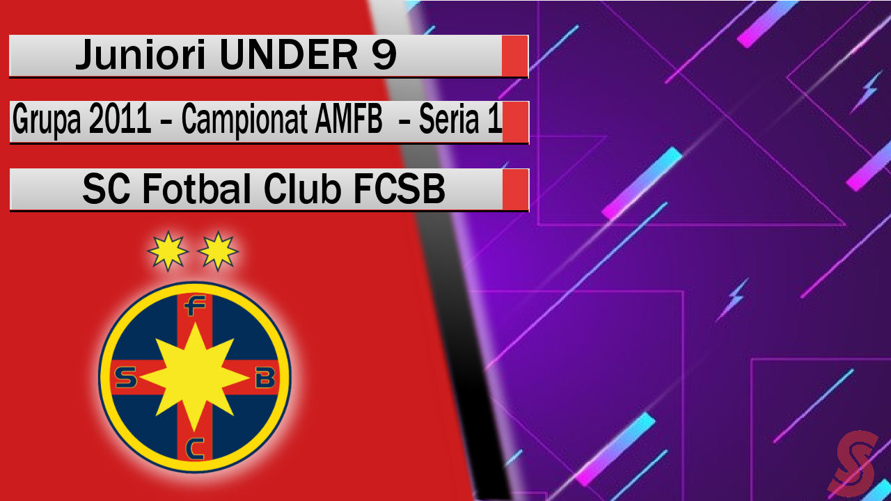 SC Fotbal Club FCSB – Juniori U9 – Născuți ÎNVINGĂTORI!