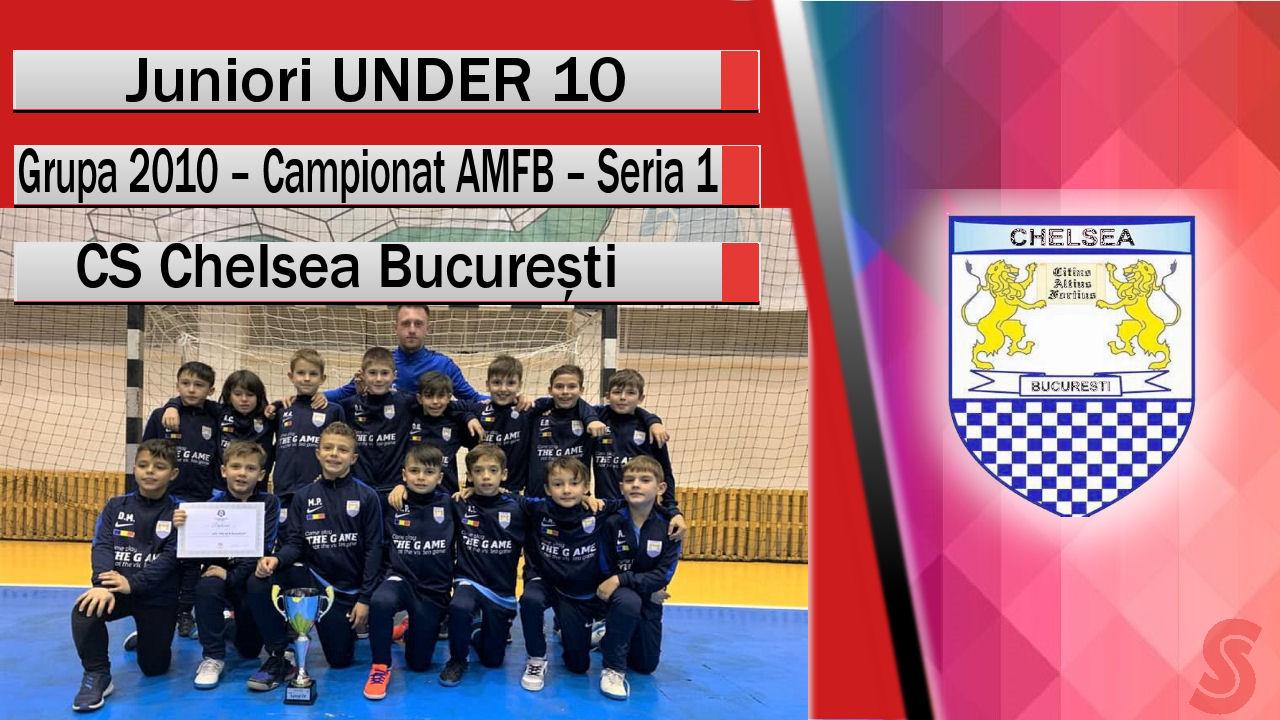 ACS Chelsea București – Juniori U10 – O echipă obișnuită să câștige!