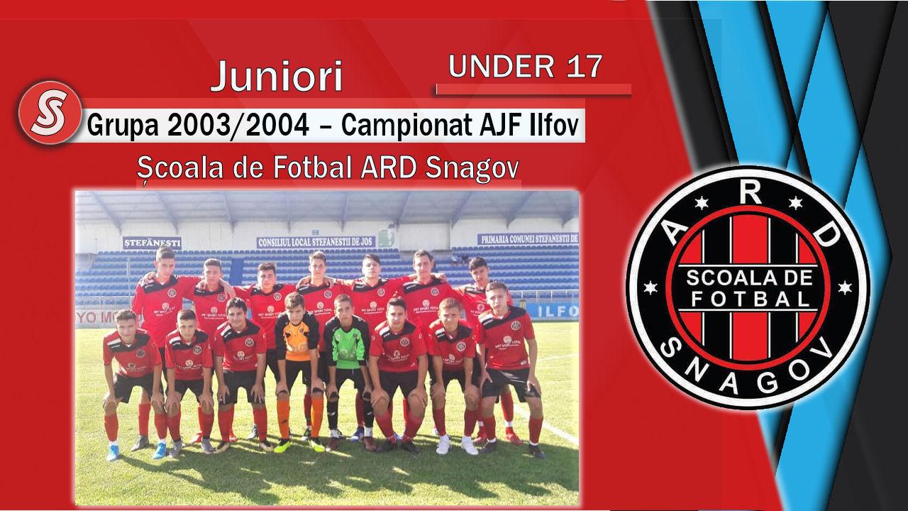 AS Școala de Fotbal ARD Snagov – Juniori U17 – O echipă care a surprins plăcut!