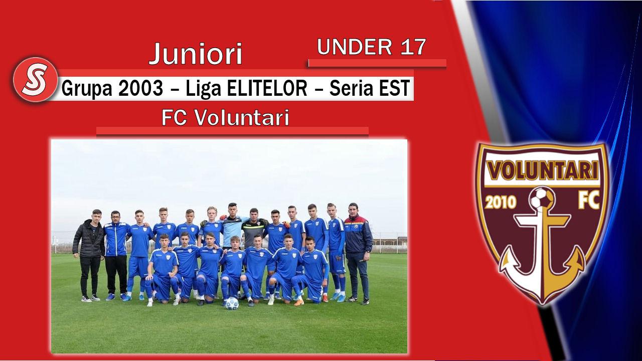 FC Voluntari – Juniori U17 – Marea REVELAȚIE a acestui sezon!