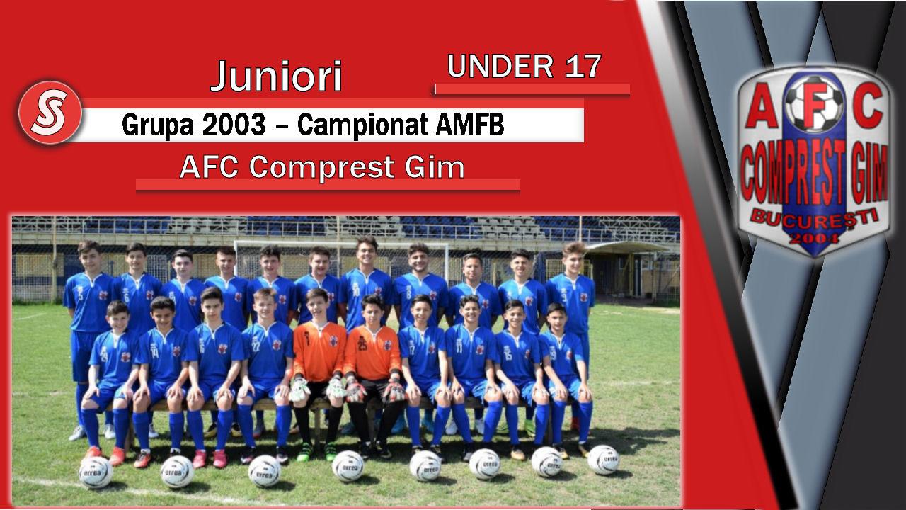 AFC Comprest Gim – Juniori U17 – O echipă care poate surprinde în acest sezon!
