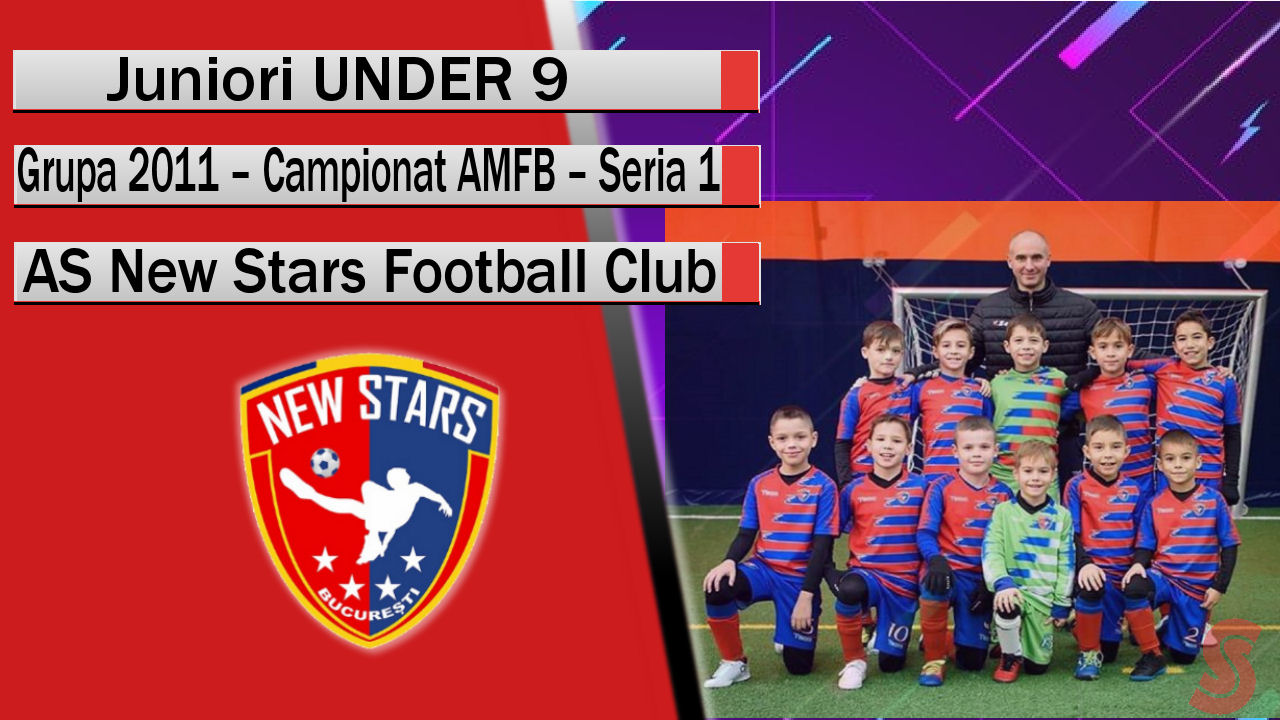 AS New Stars Football Club – Juniori U9 – Juniori de perspectivă și o echipă care confirmă!
