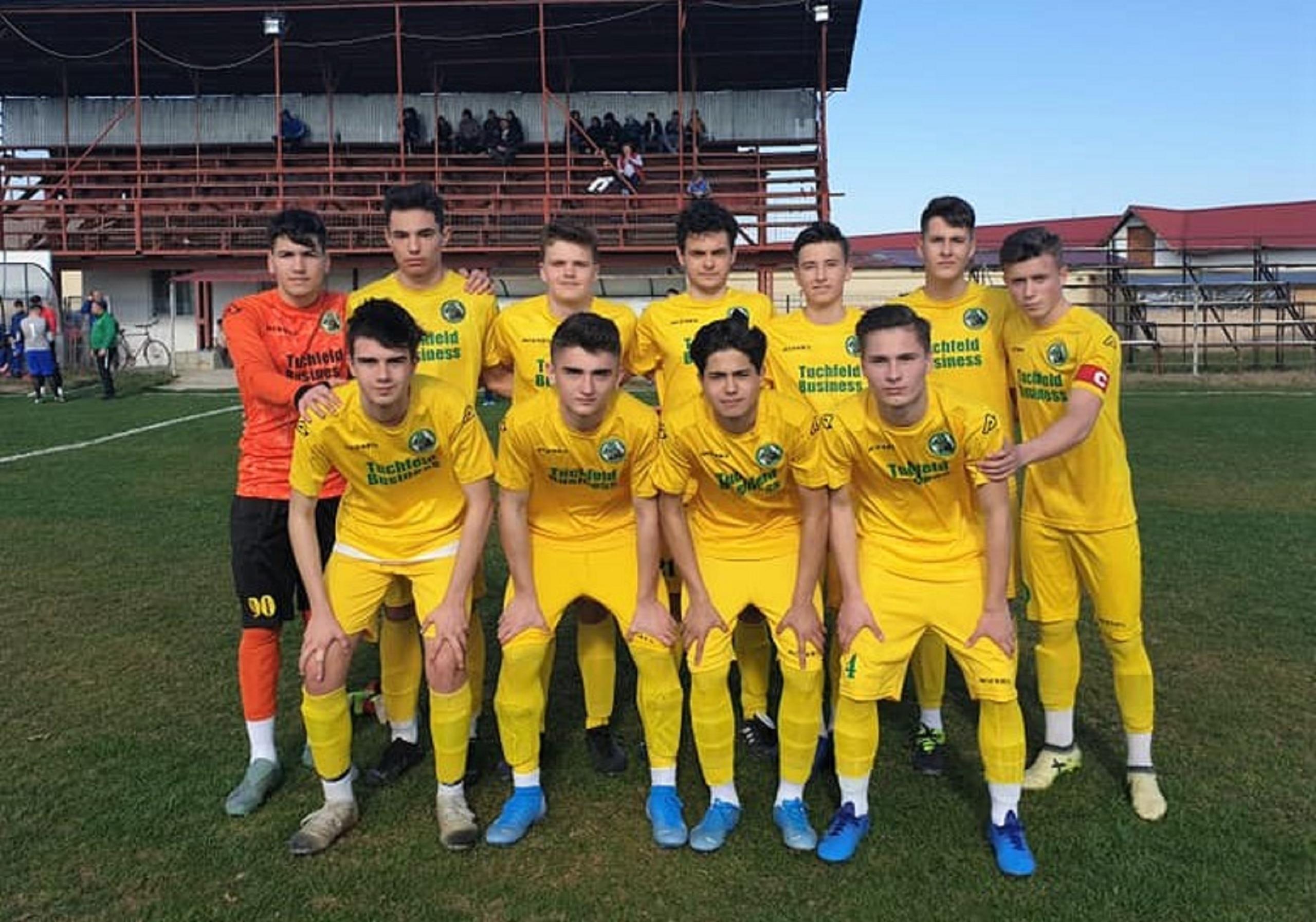 Juniori U17 AJF Ilfov – Voința Crevedia s-a dezlănțuit și a luat revanșa în fața celor de la CS Balotești!