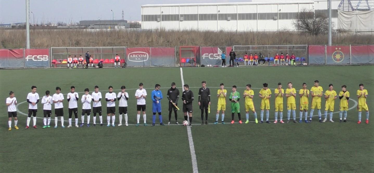 Juniori U14 AMFB – Un meci echilibrat și aprig!