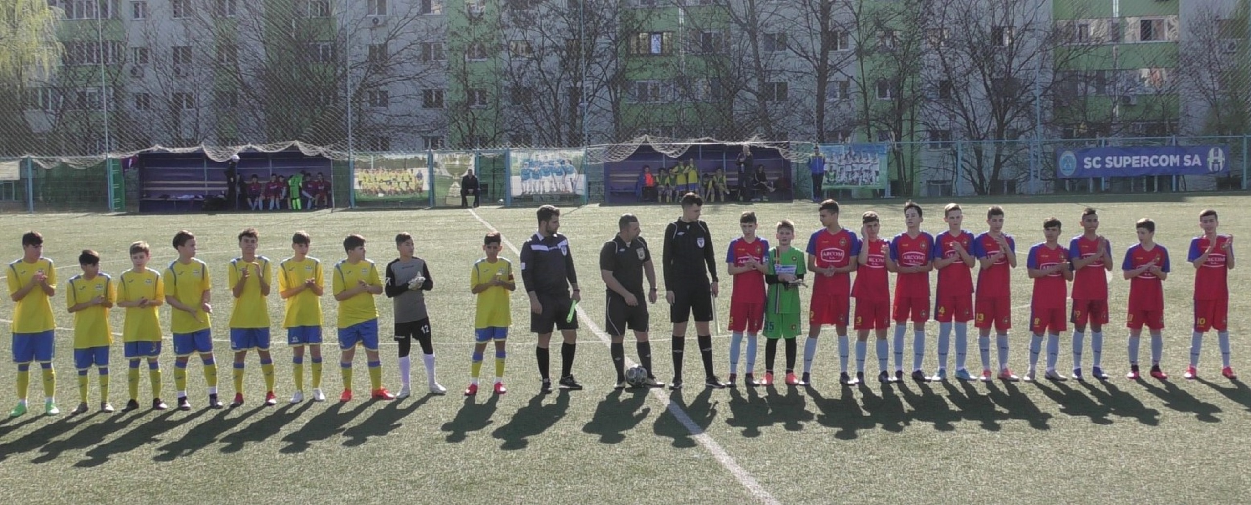 Juniori U14 AMFB – Set alb pentru FCSB Academy!