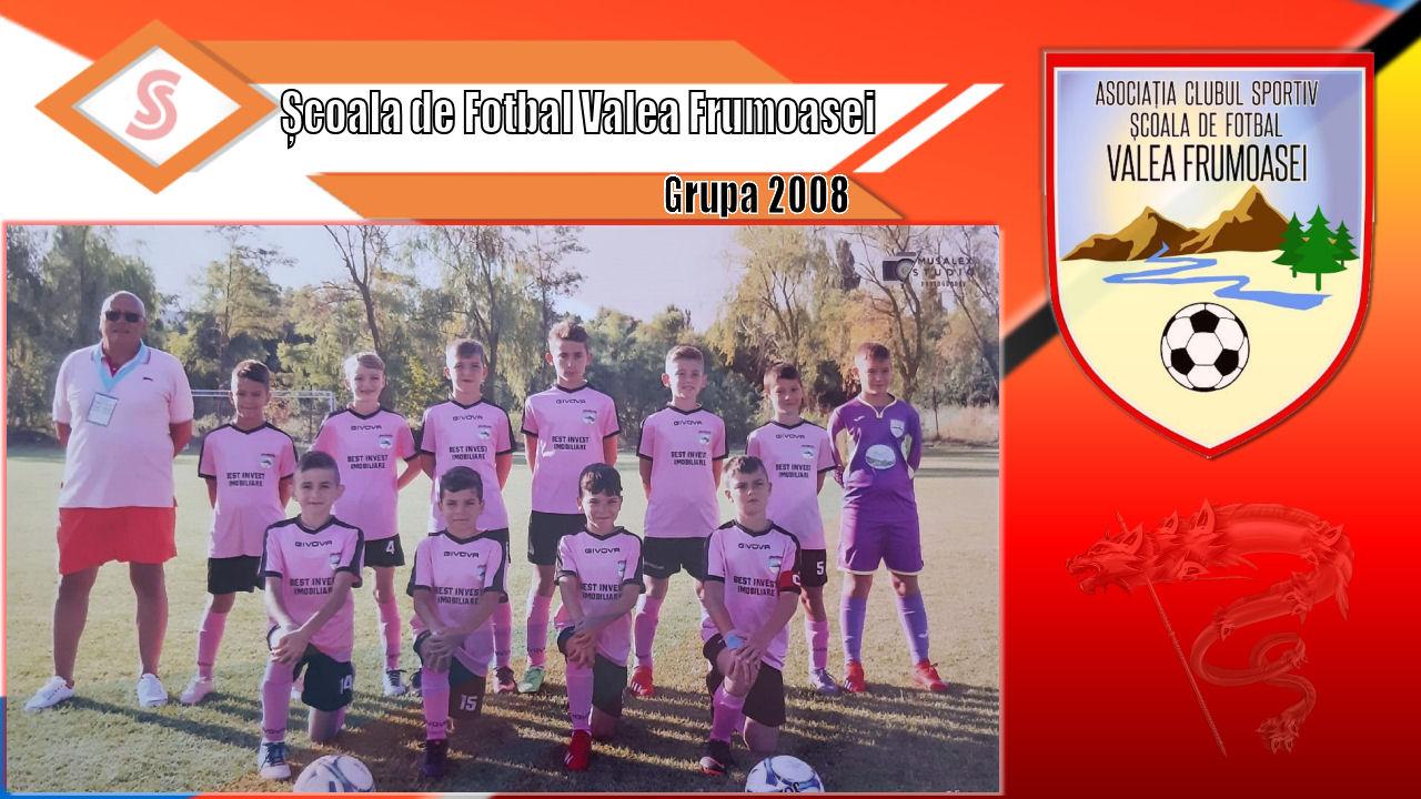 Cronicile Sfinxului (6) – Școala de Fotbal Valea Frumoasei, grupa 2008
