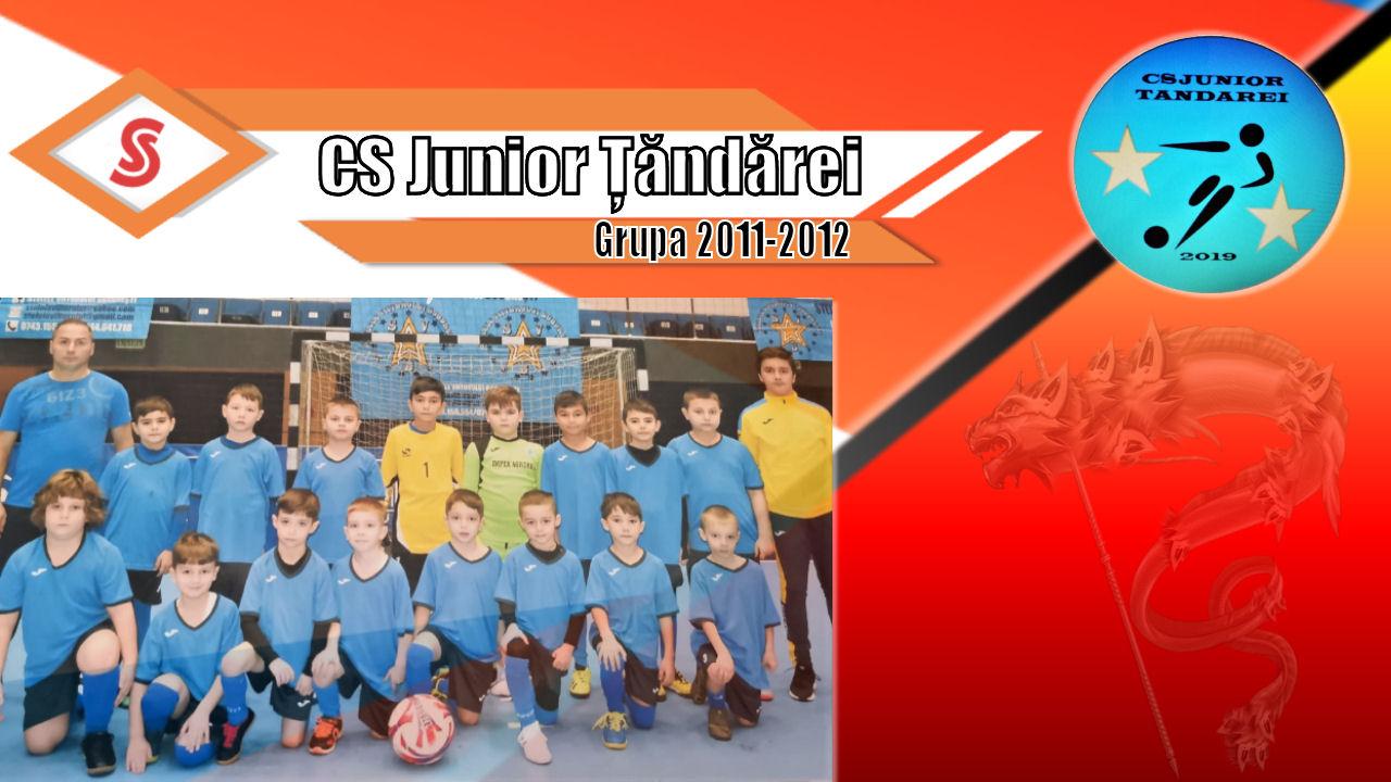 Cronicile Sfinxului (1) – CS Junior Țăndărei, grupa 2011-2012