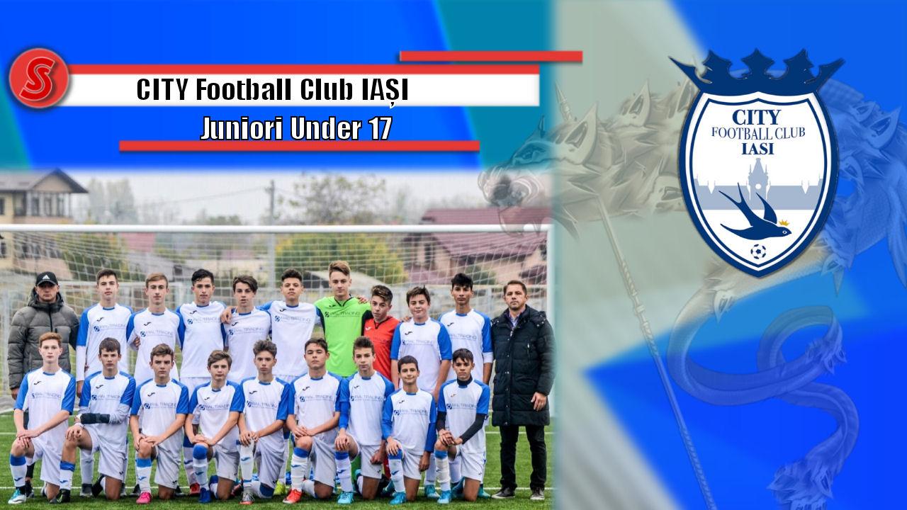 Cronicile Sfinxului (14) – CITY Football Club Iași, juniori Under 17