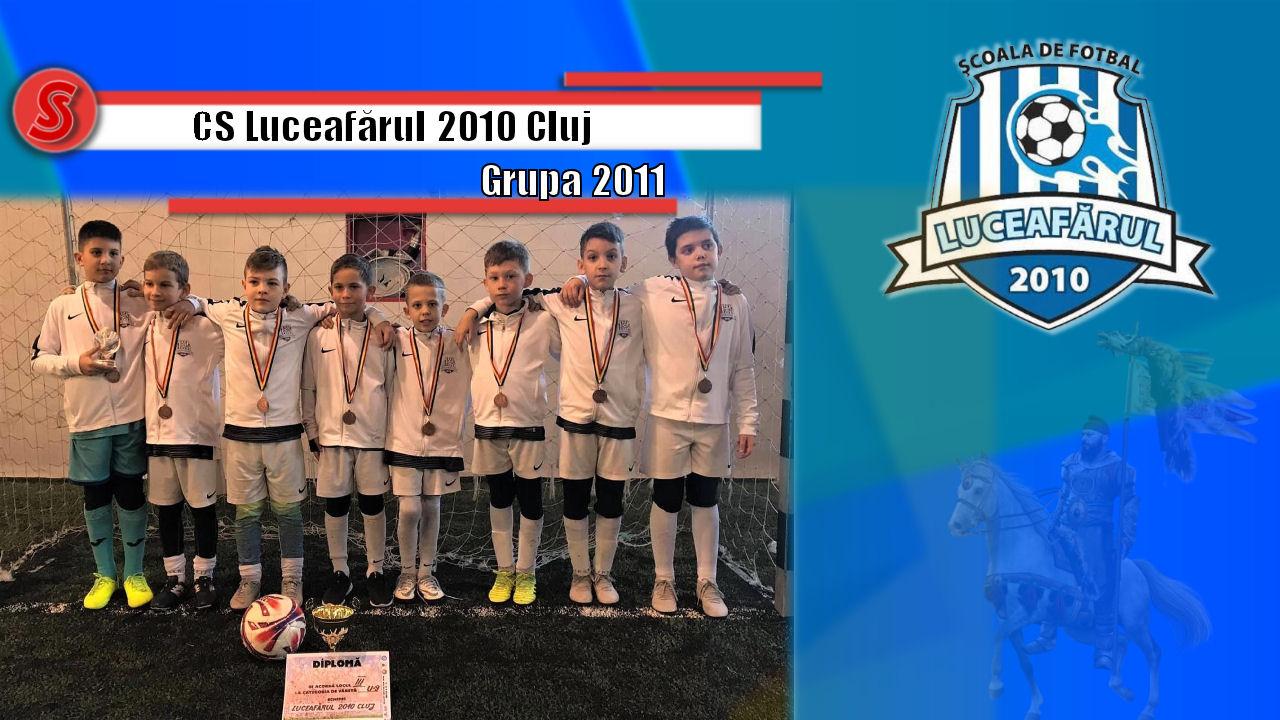 Cronicile Sfinxului (8) – CS Luceafărul 2010 Cluj, grupa 2011