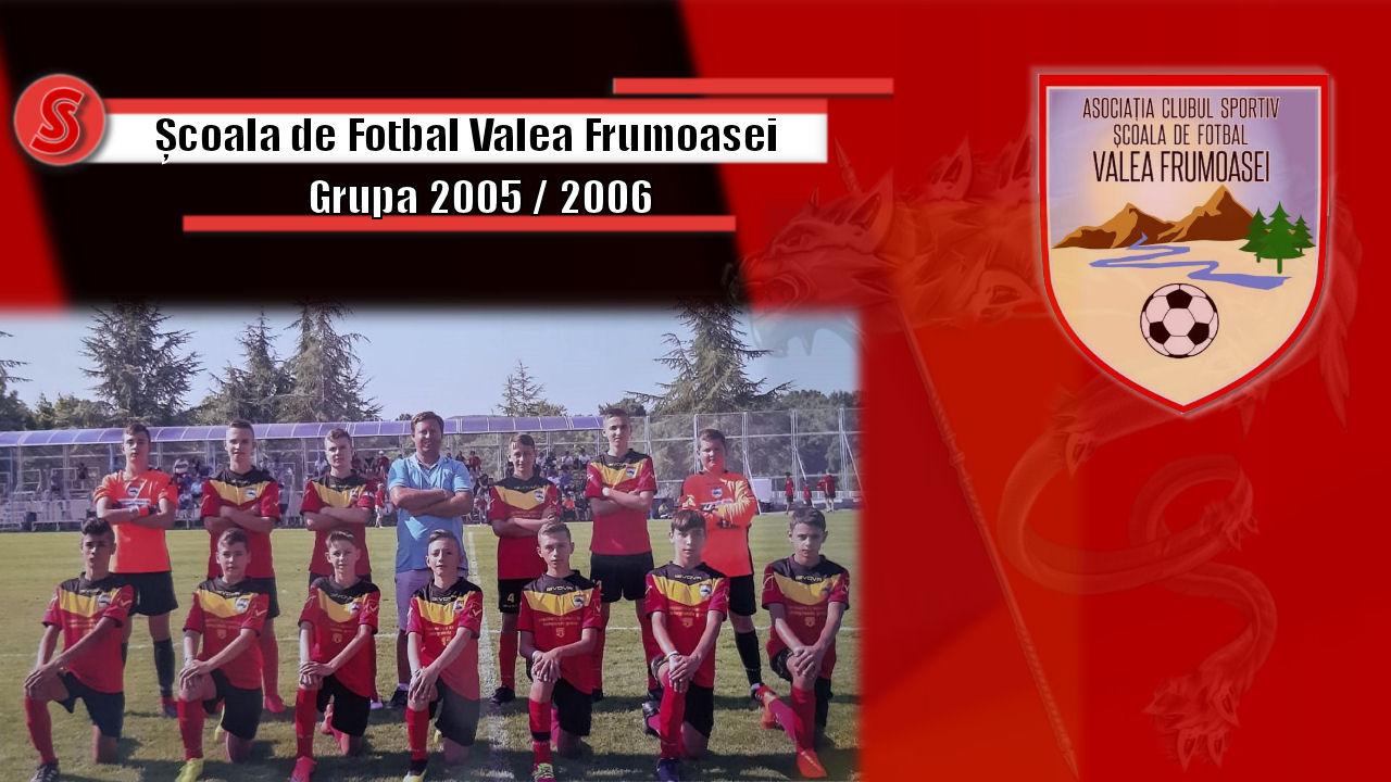 Cronicile Sfinxului (10) – Școala de Fotbal Valea Frumoasei, grupa 2005 / 2006