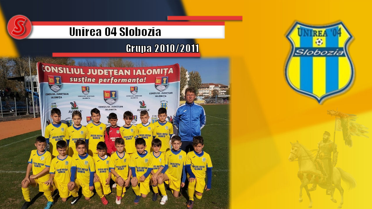 Cronicile Sfinxului (9) – Unirea 04 Slobozia, grupa 2010/2011