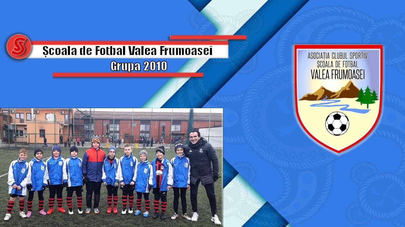 Cronicile Sfinxului (19) – Școala de Fotbal Valea Frumoasei, grupa 2010