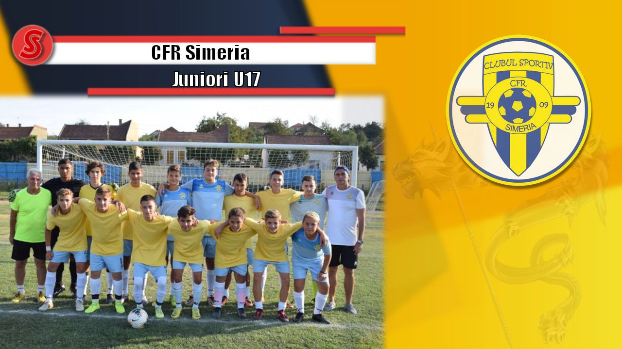 Cronicile Sfinxului (21) – CFR Simeria, Juniori U17