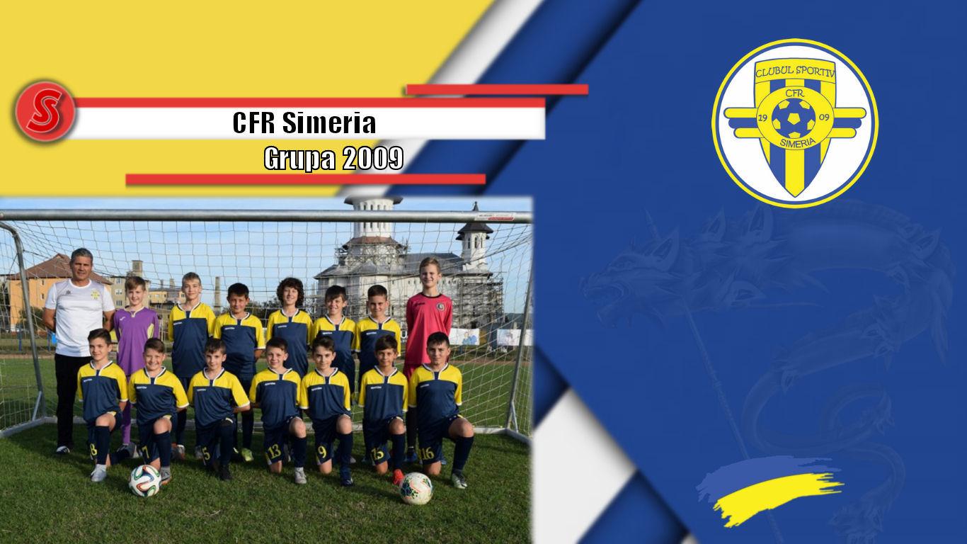 Cronicile Sfinxului (24) – CFR Simeria, grupa 2009