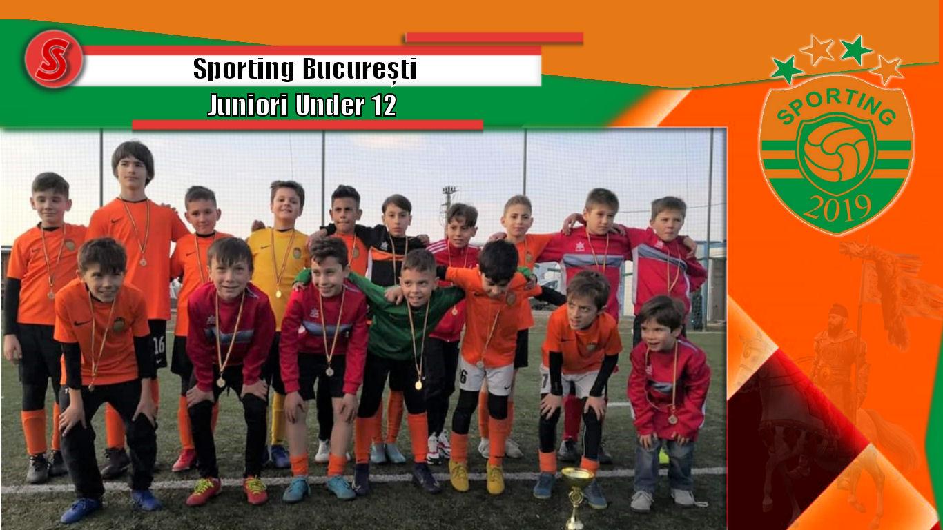 Cronicile Sfinxului (38) – Sporting București, Juniori Under 12