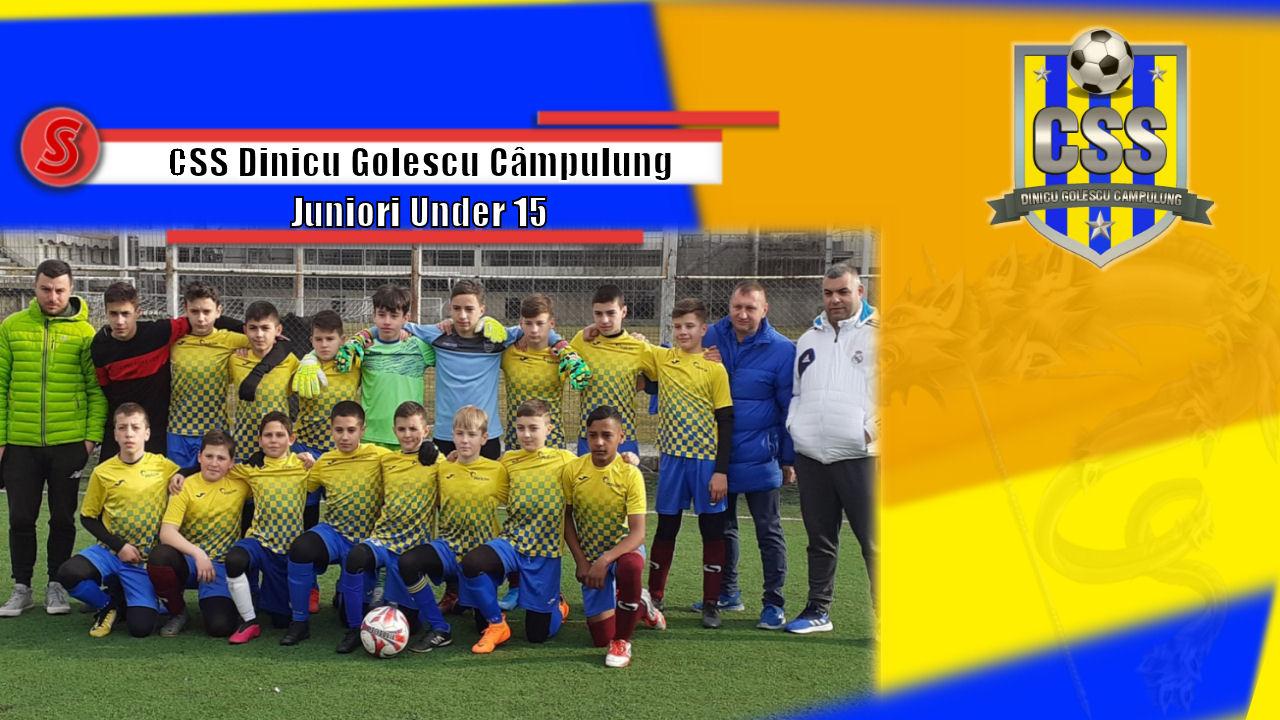 Cronicile Sfinxului (35) – CSS Dinicu Golescu Câmpulung, Juniori Under 15