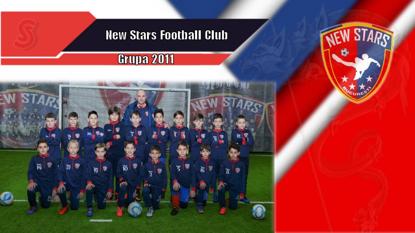 Cronicile Sfinxului (47) – New Stars Football Club, grupa 2011