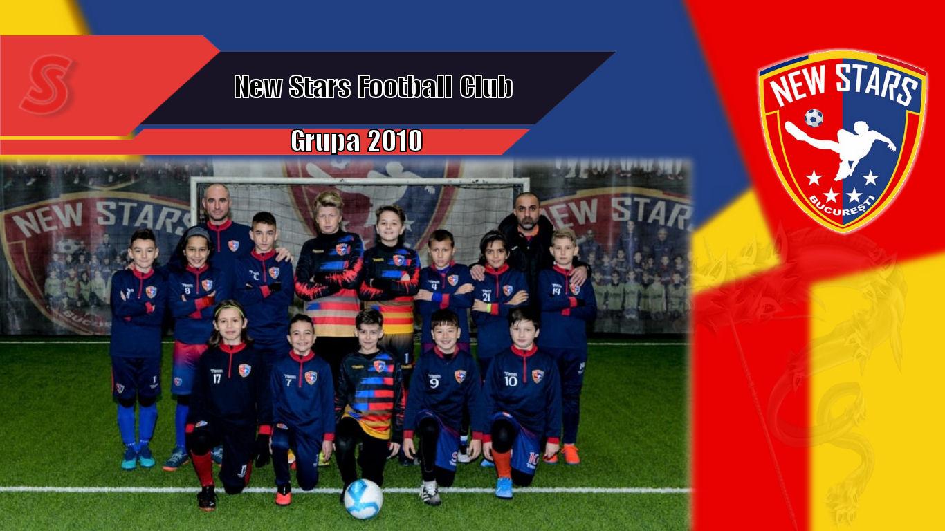 Cronicile Sfinxului (51) – New Stars Football Club, grupa 2010