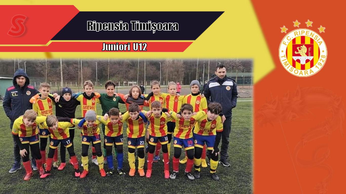 Cronicile Sfinxului (54) – Ripensia Timișoara, Juniori U12