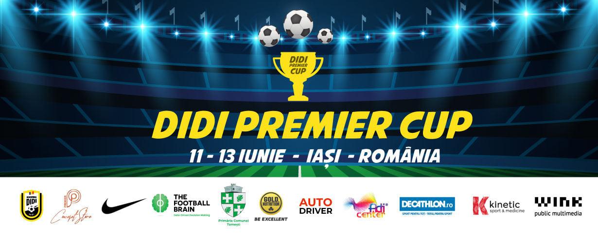 Programul complet de desfășurare meciuri DIDI Premier Cup U8, copii născuți 2013