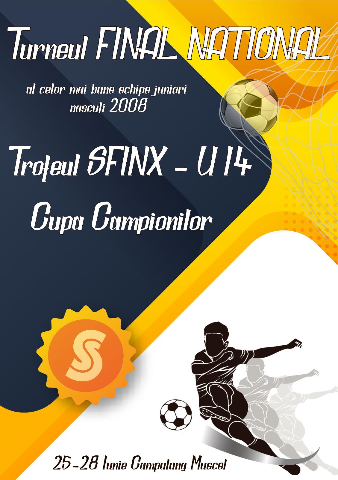 Programul complet al meciurilor – Trofeul Sfinx U14 Cupa Campionilor