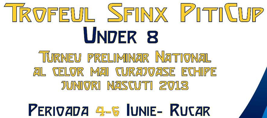 Program desfășurare meciuri Trofeul Sfinx PitiCup U8