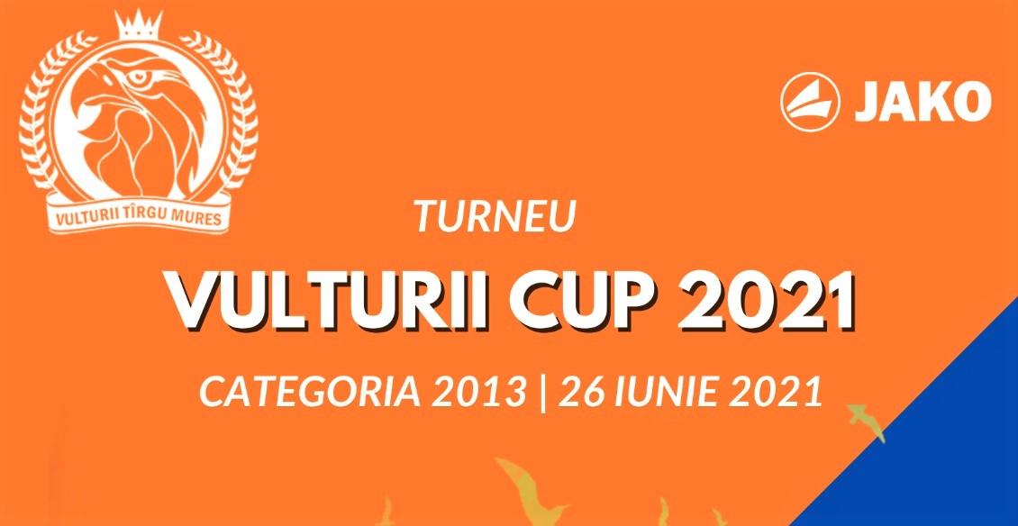 Vulturii Cup 2021 – O competiție inedită dedicată micilor juniori! 14 cluburi vin la Târgu Mureș pentru un deosebit spectacol de fotbal juvenil!