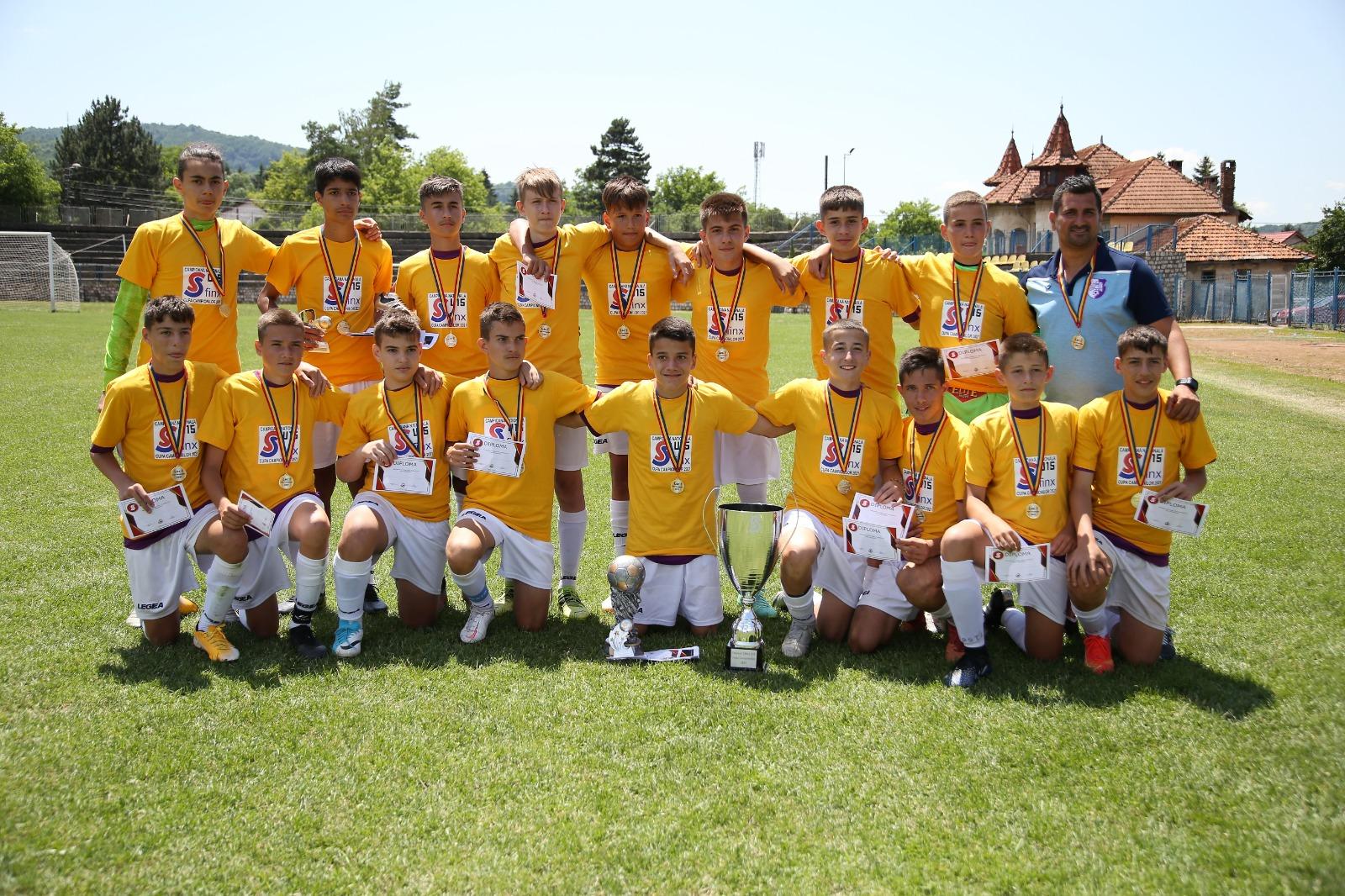 FC Argeș – Campioana României la Turneul Final Național Sfinx U15!